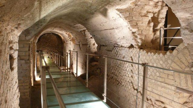 rione terra percorso sotterraneo
