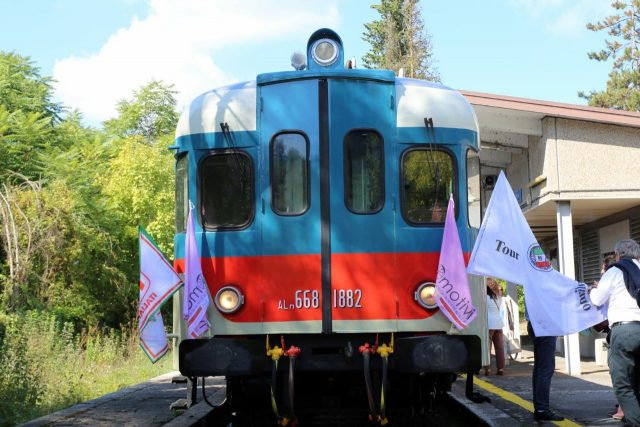 treno storico vini docg irpinia