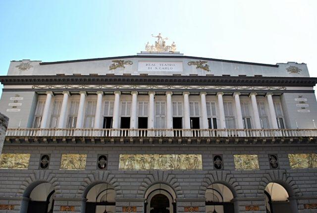 Teatro di San Carlo Napoli facciata