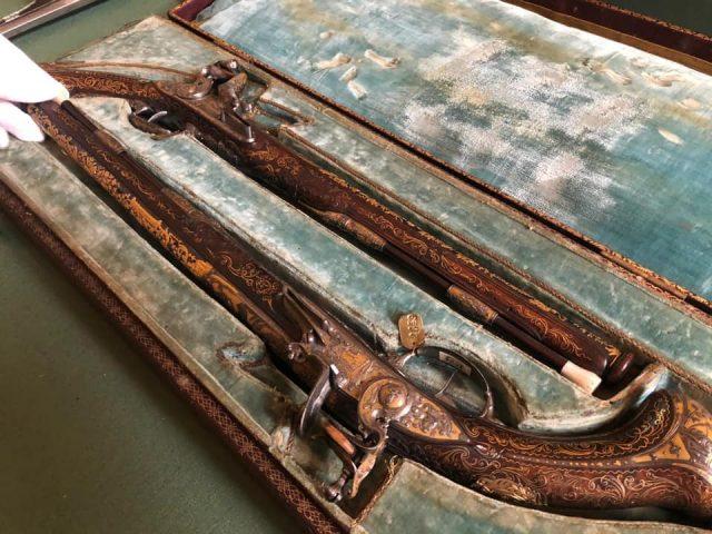 pistole del re capodimonte