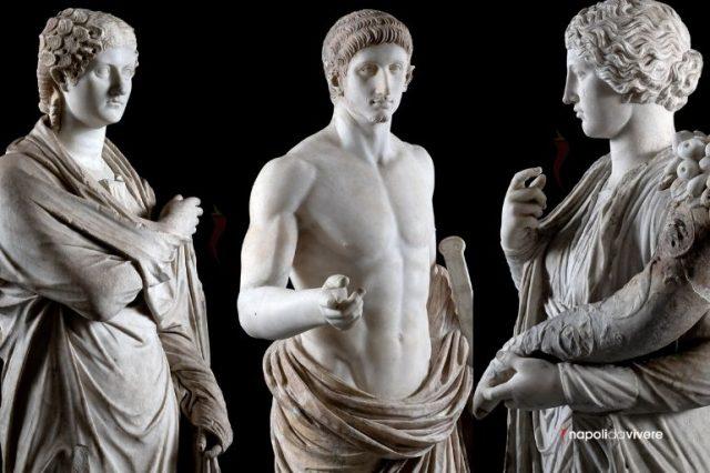 sette giorni sette statue mann napoli