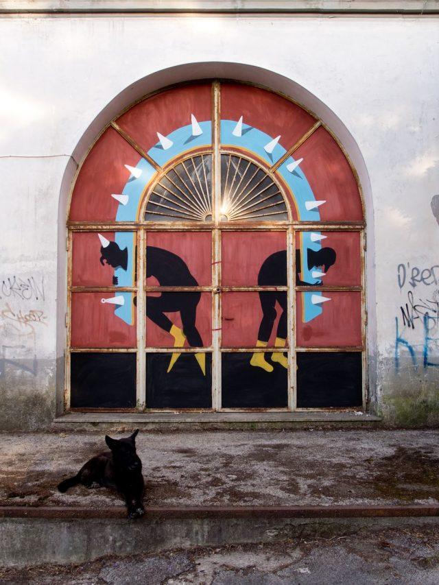 street art cyop & kaf napoli
