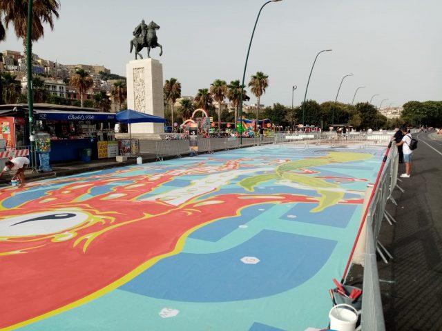 Shaone lungomare napoli street art