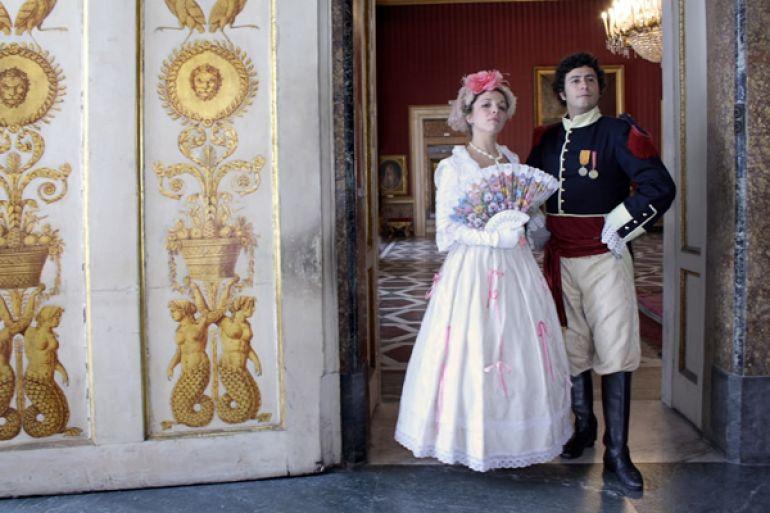 Ballo di corte al palazzo reale a napoli napoli da for Planimetrie del palazzo con sala da ballo