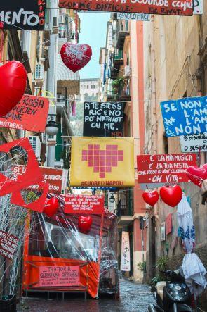 #CUOREDINAPOLI 2018 ai Quartieri Spagnoli di Napoli