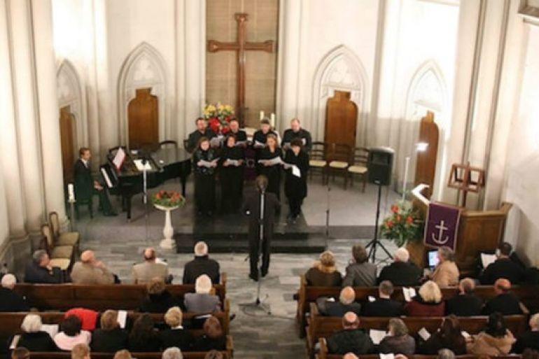 Risultati immagini per chiesa luterana di napoli