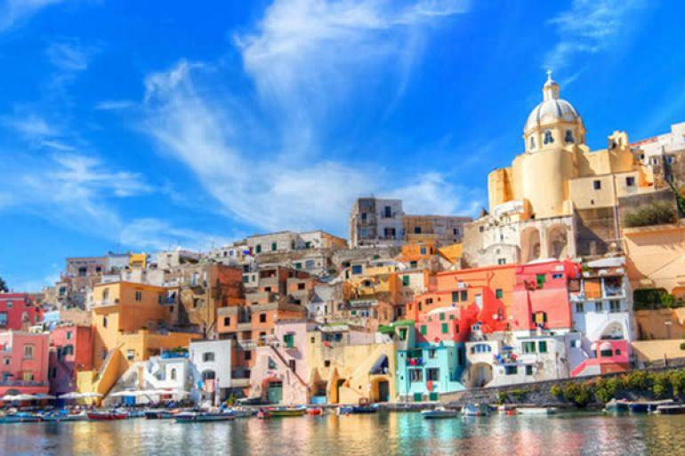 I Colori Di Procida Alla Presentazione Dell Iphone 6s Napoli Da