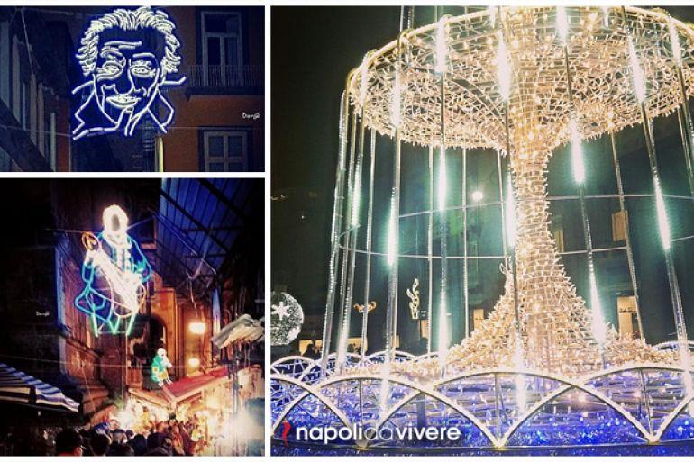 Addobbi Natalizi Napoli.Le Vie Delle Luminarie A Napoli Natale 2015 Napoli Da Vivere