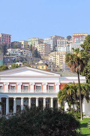 Musica sotto le stelle a Villa Pignatelli a Napoli