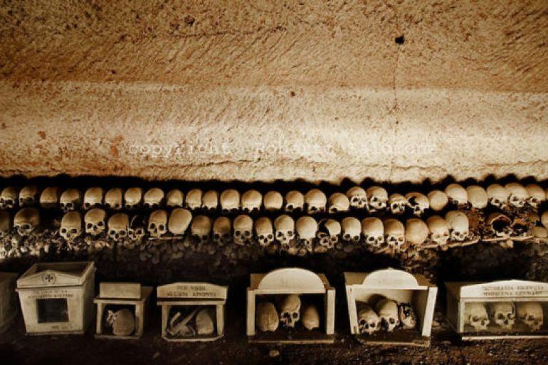 Risultati immagini per napoli da vivere cimitero fontanelle