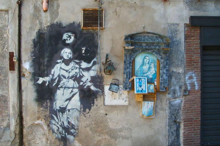 Murales Napoli Quartieri Spagnoli