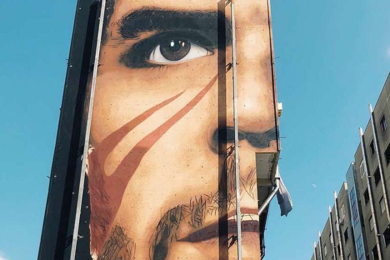 Street Art A Napoli Un Nuovo Murales Di Jorit Con Che Guevara In