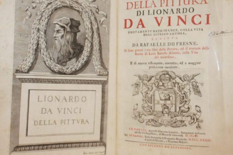 Uno dei Codici di Leonardo Da Vinci alla Federico II di