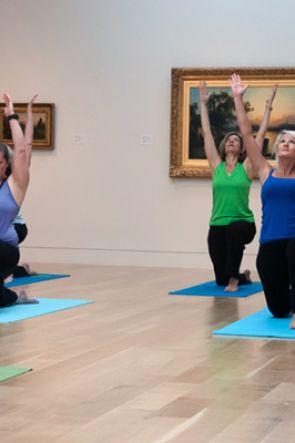 Lezioni di Yoga Gratis a Capodimonte e nei Musei a Napoli