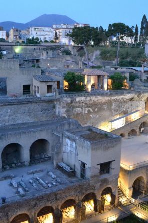 Visite notturne straordinarie al Parco Archeologico di Ercolano
