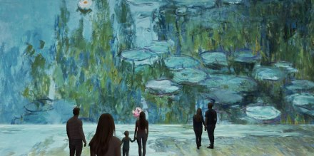 Claude Monet the Immersive Experience a Napoli