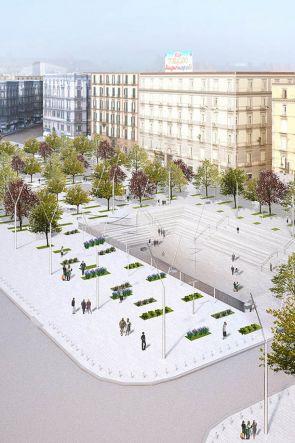 Piazza Garibaldi riapre con un Bosco Urbano in piena città a Giugno 2019