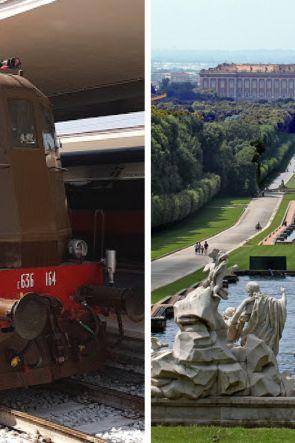 Reggia Express: in treno storico da Napoli alla Reggia di Caserta | Biglietti e prossime date